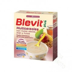 BLEVIT PLUS MULTICEREALES FRUTOS SECOS B 600 GRAMOS