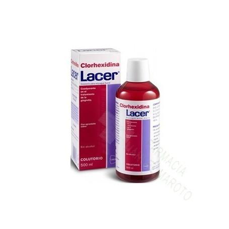 LACER COLUTORIO CLORHEX.500 ML