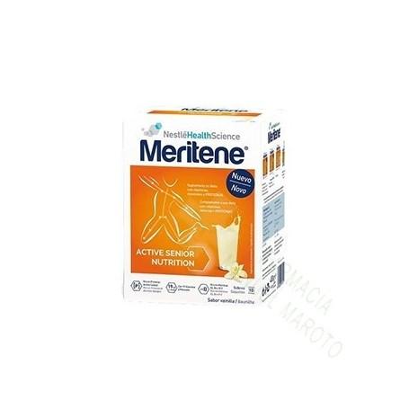 MERITENE VAINILLA 15X30 G: