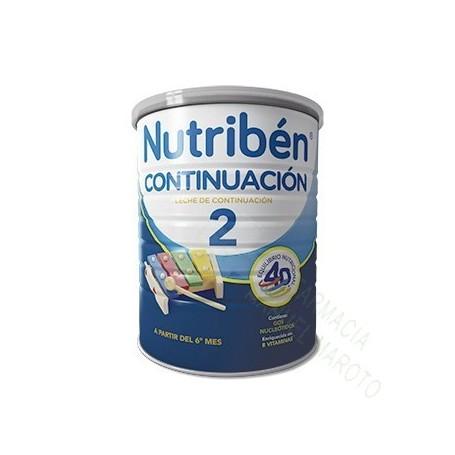 NUTRIBEN CONTINUACION 2 (800 Gr)