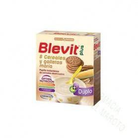 BLEVIT PLUS DUP 8 CEREALES GALLETA 700G