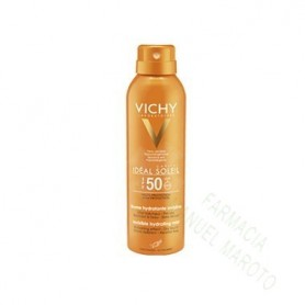 VICHY SOLAR 50+ SPRAY BRUMA HIDRATANTE 200 ML