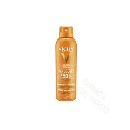 VICHY SOLAR 50+ SPRAY BRUMA HIDRATANTE 200 ML