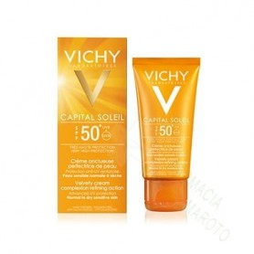 VICHY SOLAR SPF50+ CREMA UNTUOSA 50ML+AQUALIA