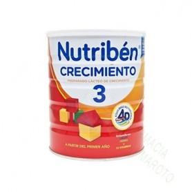 NUTRIBEN CRECIMIENTO 3 (800 Gr)