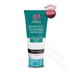 NEUTROGENA FORMULA NORUEGA PIES CREMA ABSORCION INMEDIATA 100 ML