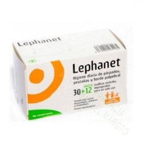 LEPHANET TOALLITAS (30 UD + 12 DE REGALO)
