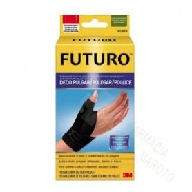 MUÑEQUERA PULGAR FUTURO NEGRA L/XL