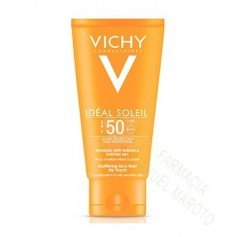 VICHY SOLAR SPF50+ EMULSION TOQUE SECO 50ML+ AFTERSUN