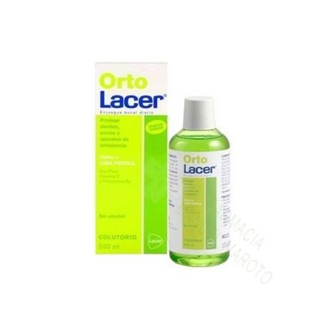 ORTOLACER COLUTORIO 500 ML LIMA FRESCA