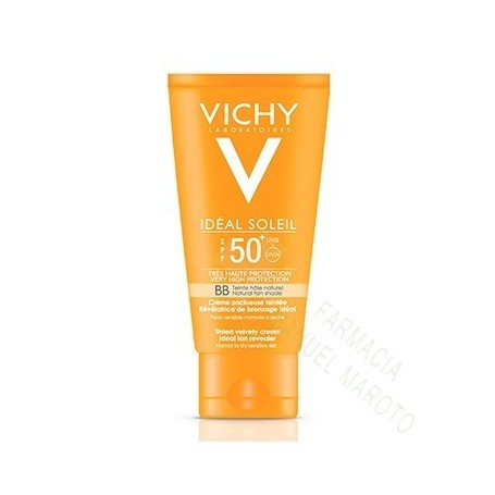 VICHY SOLAR SPF50+ BB CREAM COLOR TOQUE SECO