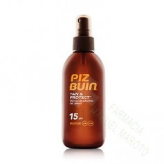 PIZ BUIN SPF 15 TAN&PROTECT ACEITE EN SPRAY 150 ML
