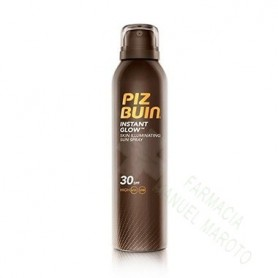 PIZ BUIN SPF 30 INSTANT GLOW ILUMINATING SPRAY 150 ML