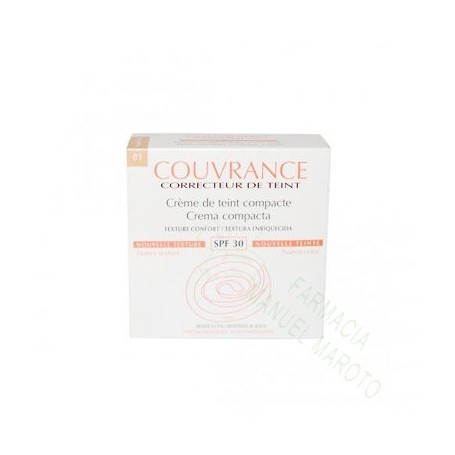 AVENE COUVRANCE COMPACTO OIL FREE PORCELANA