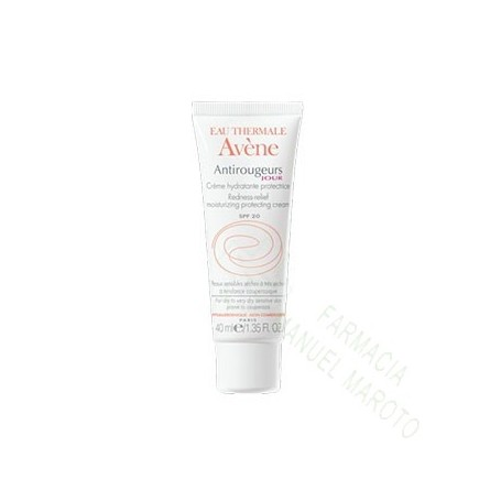 AVENE ANTIROJECES EMULSION DIA SPF20 40 ML