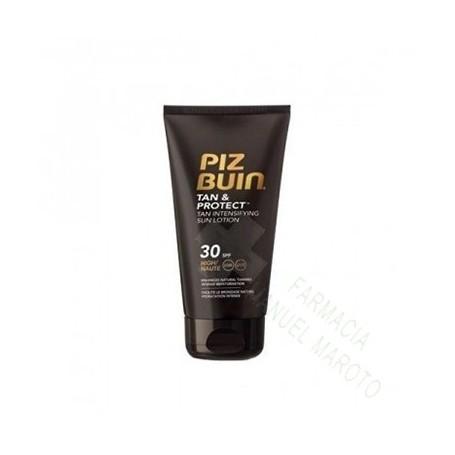 PIZ BUIN SPF 30 TAN&PROTECT LOCION 150 ML