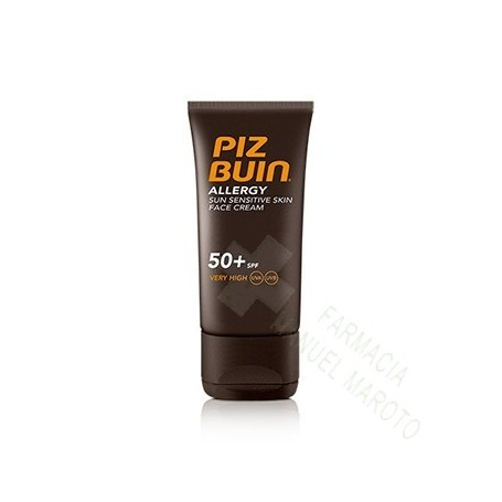 PIZ BUIN SPF 50+ ALLERGY CREMA FACIAL 50 ML