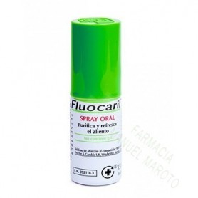 FLUOCARIL SPRAY ORAL 15 ML AER