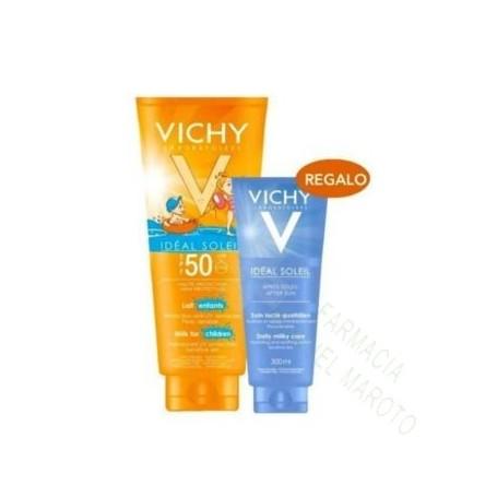 VICHY SOLAR SPF50+ LECHE INFANTIL 300 ML (CUBO)