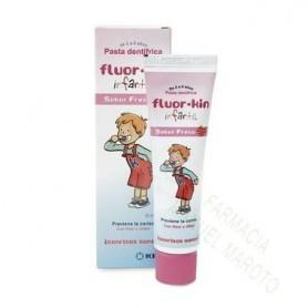 FLUOR KIN INFANTIL PASTA FRESA 100 ML