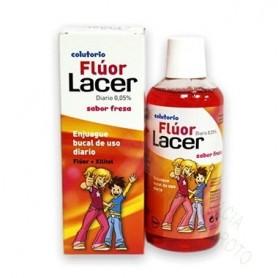 FLUOR LACER DIARIO FRESA 500 ML