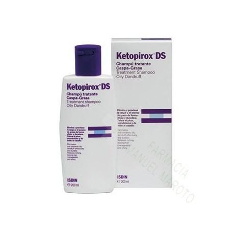 KETOPIROX DS CHAMPU CASPA GRASA 200 ML