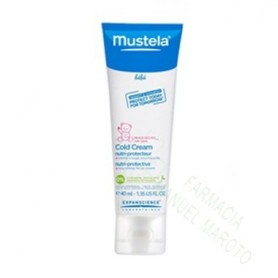 MUSTELA CARA HIDRATANTE COLD CREAM 40 ML