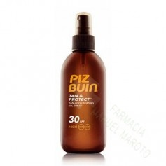 PIZ BUIN SPF 30 TAN&PROTECT ACEITE EN SPRAY 150 ML