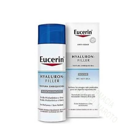 EUCERIN HYALURON FILLER TEXTURA ENRIQUECIDA NOCHE 50 ML