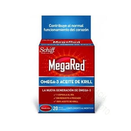 MegaRed omega-3 Krill 20 caps