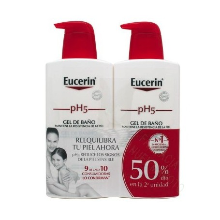 EUCERIN GEL 400+400 ML