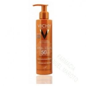 VICHY SOLAR SPF50+ LECHE ANTIARENA 200 ML