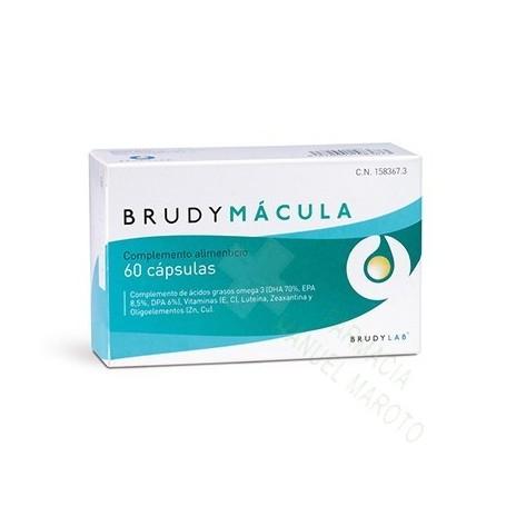 BRUDY MACULA 60 CAPSULAS