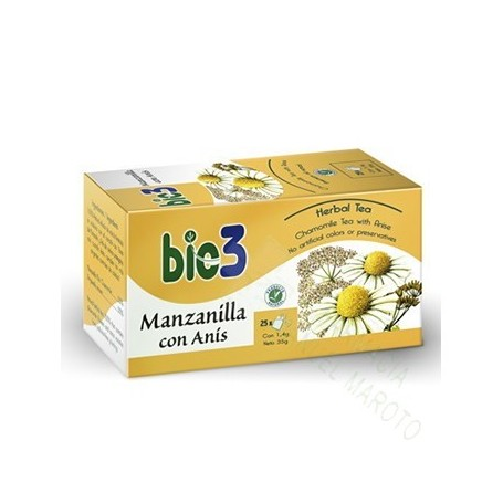 BIE 3 MANZANILLA ANIS 25 BOLS