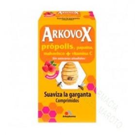 ARKOVOX PROPOLIS+VIT C 24 COMP MIEL Y LIMON