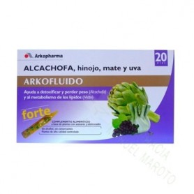 ARKOCAP ALCACHOFA FORTE MATE Y UVA 20 AMPOLLAS