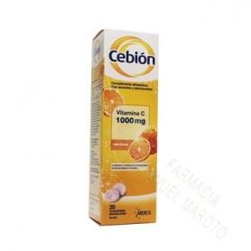 CEBION 1000 COMPRIMIDOS EFERVESCENTES 20 COMP