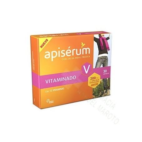 APISERUM VITAMINADO 30 CAPS