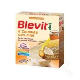 BLEVIT PLUS 8CEREALES Y MIEL SUPERFIBRA 600G