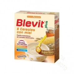 BLEVIT PLUS 8CEREALES Y MIEL SUPERFIBRA 600G