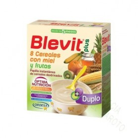 BLEVIT PLUS DUP 8 CER FRUTAS 700G