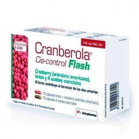 CRANBEROLA FLASH 20 CAPS TRATAMIENTO 1+1 M..1+1 NOCHE