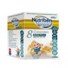 NUTRIBEN INNOVA 8 CEREALES EXTRA FIBRA 600 G