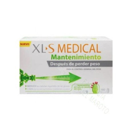 XLS MEDICAL MANTENIMIENTO 180 COMP