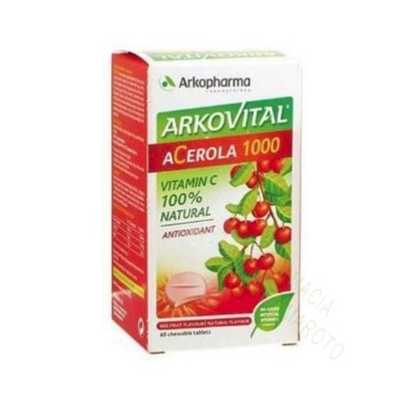 ARKOVITAL ACEROLA 1000 30 COMP