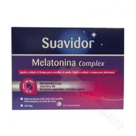 SUAVIDOR MELATONINA COMPLEX 30 (TENER UNA SIEMPRE)