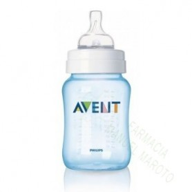 AVENT BIBERON 260 ML AZUL DECORADO