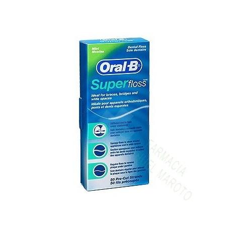 ORAL-B SUPERFLOSS BOLSA 50 UDS