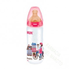 NUK BIBERON TRAVEL BA 1M LATEX 300 ML