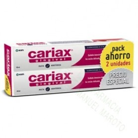 CARIAX PASTA 125 ML DUPLO PACK 2 U